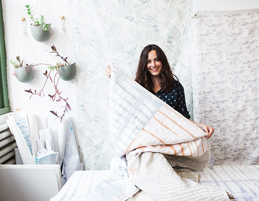 rebecca atwood quilts and sheets. / sfgirlbybay