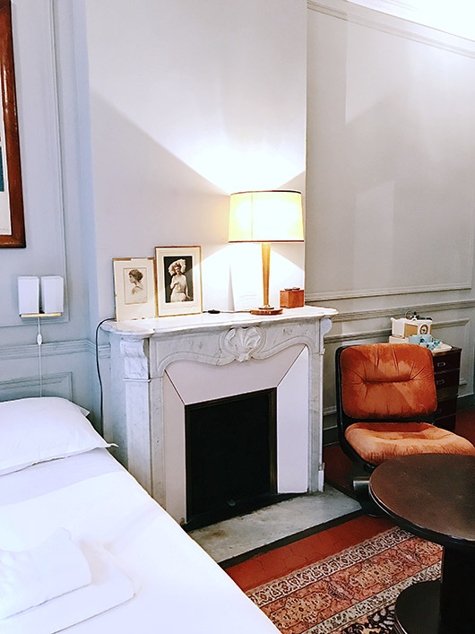 my room at the pension edelweiss in marseille. / sfgirlbybay