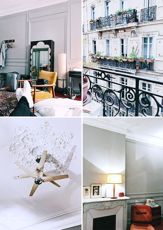 french decor and views at pension edelweiss. / sfgirlbybay