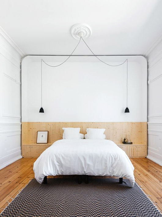 charming minimalist bedroom design and decor. / sfgirlbybay