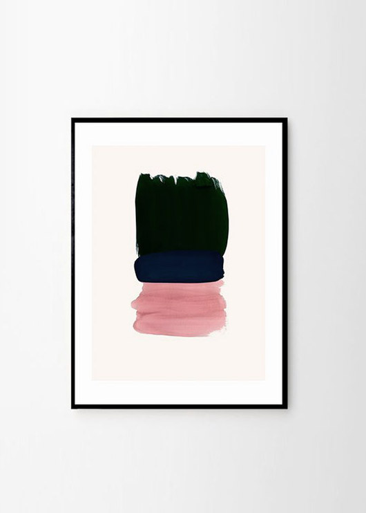 graphic art print by Berit Mogensen Lopez. / sfgirlbybay
