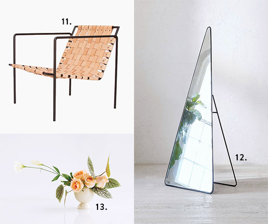 noteworthy modern home decor items. / sfgirlbybay