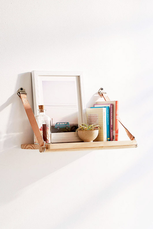 small shelf with books and decor. / sfgirlbybay