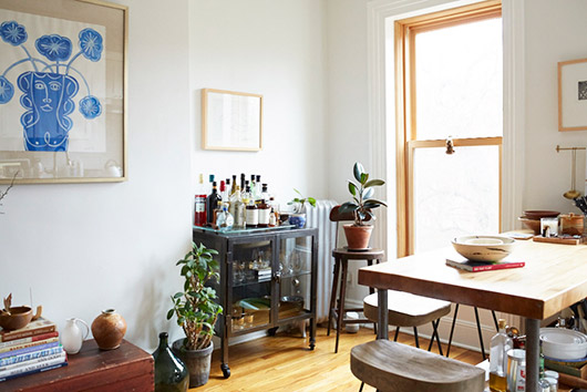 designer Lizzie Fortunato's eclectic home. / sfgirlbybay
