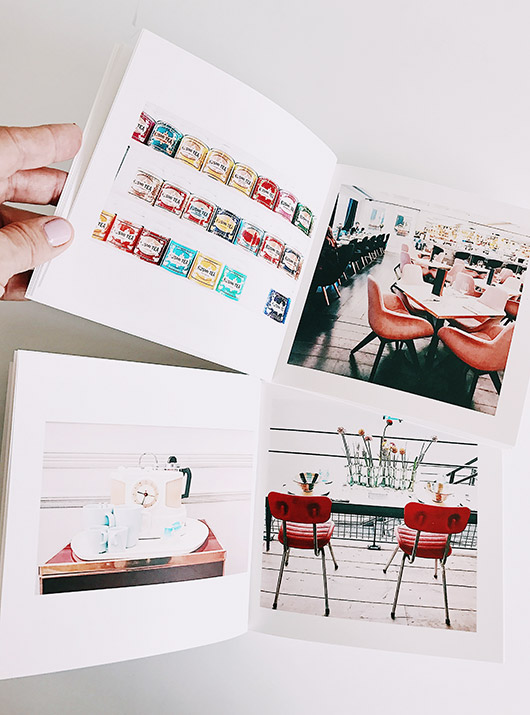 artifact uprising photo book made with your instagrams. / sfgirlbybay