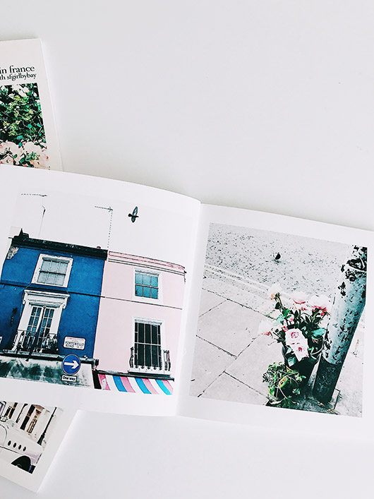 make your own photo book with artifact uprising instagram friendly books. / sfgirlbybay