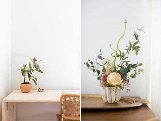 wood and floral details at home with: ayla gurganus. / sfgirlbybay