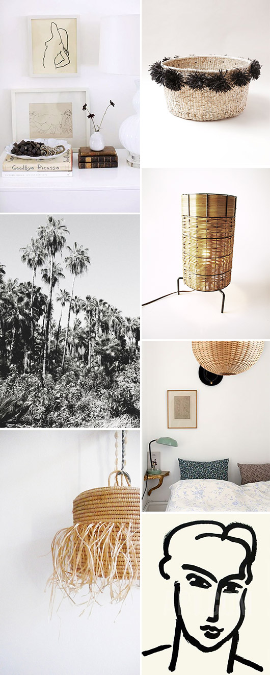 guest bedroom decor and inspiration. / sfgirlbybay