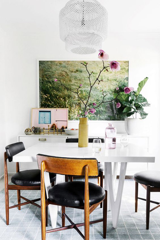 inspiring dining room decor and furnishings. / sfgirlbybay
