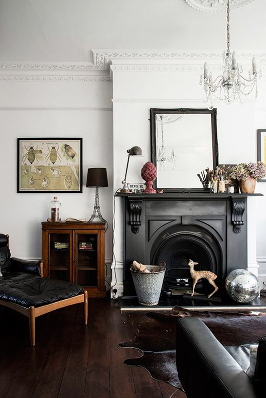 decor inspiration via blogger mademoiselle poirot. / sfgirlbybay