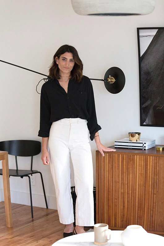 paige geffen in her l.a. home. / sfgirlbybay