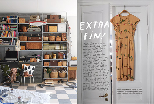dress and room decor inspiration via fine little day. / sfgirlbybay