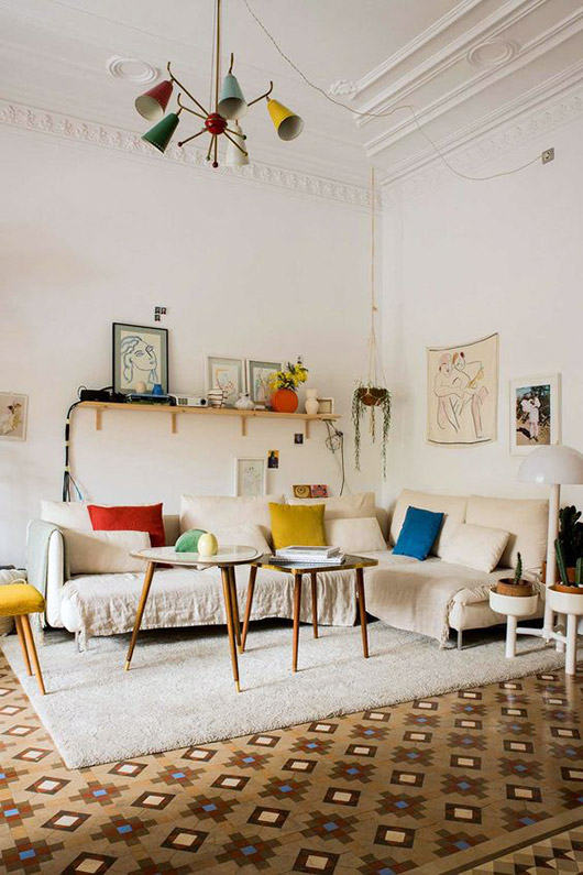 home of designer paloma lanna via architectural digest. / sfgirlbybay