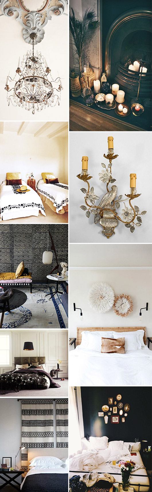 bohemian decor inspiration. / sfgirlbybay