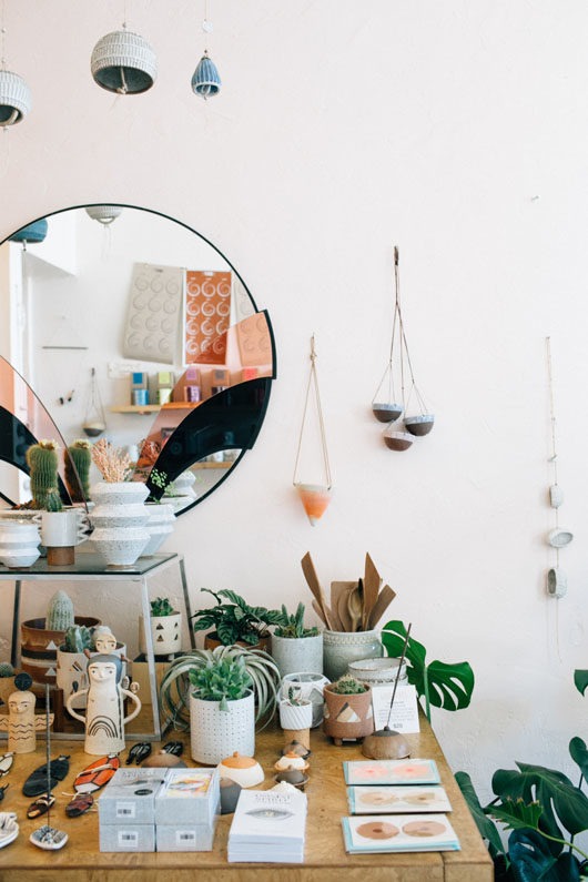 curated home goods and gifts at belljar in los feliz. / sfgirlbybay
