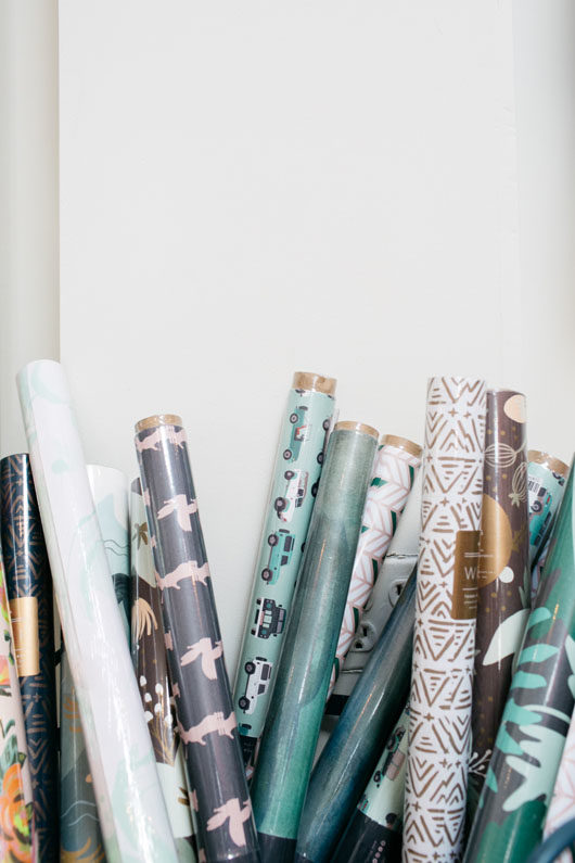 wrapping paper from Bonjour Fête. / sfgirlbybay