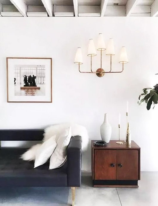 wall sconce with multiple lights. / sfgirlbybay