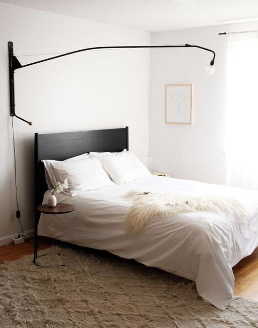 long black wall light. / sfgirlbybay