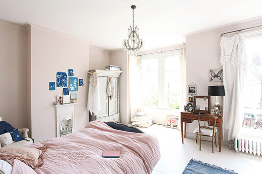light locations home in queen's park, england. / sfgirlbybay