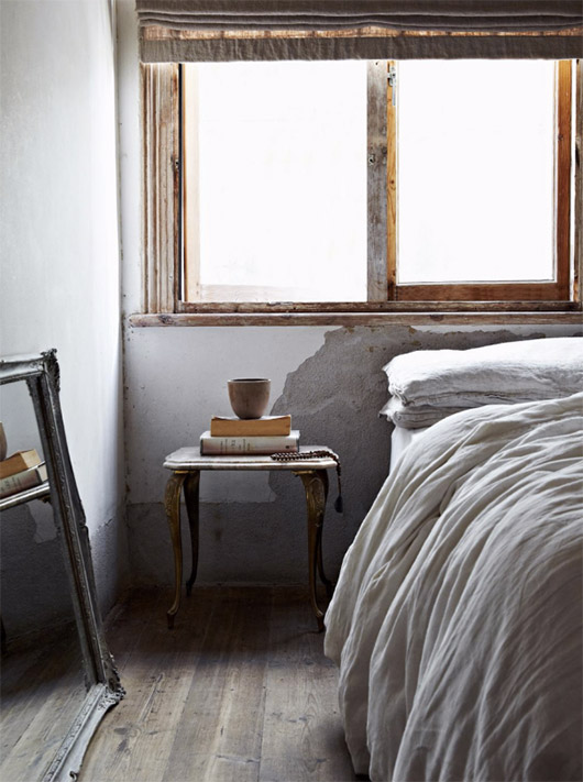 rustic bedroom decor in issue 25 of EST magazine. / sfgirlbybay