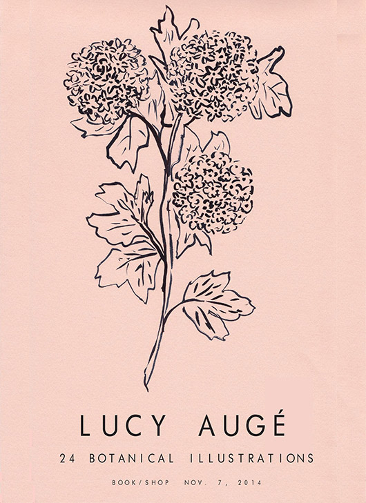 lucy augé print in pink and black. / sfgirlbybay