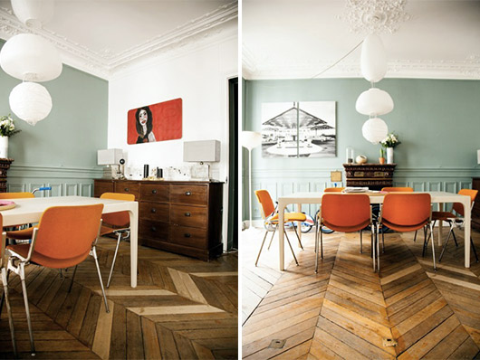 decorating with a pop of orange / sfgirlbybay