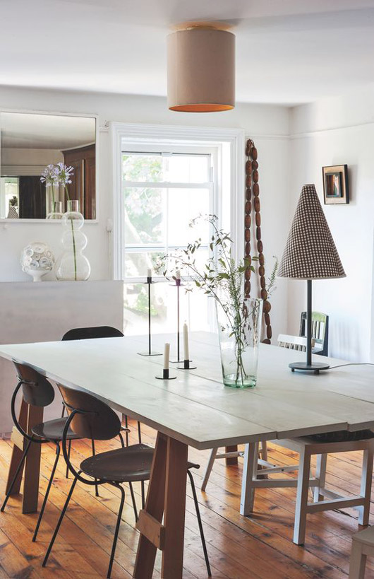 simple and modern dining area. / sfgirlbybay