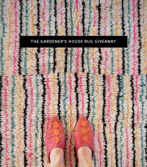 the gardener's house giveaway. / sfgirlbybay