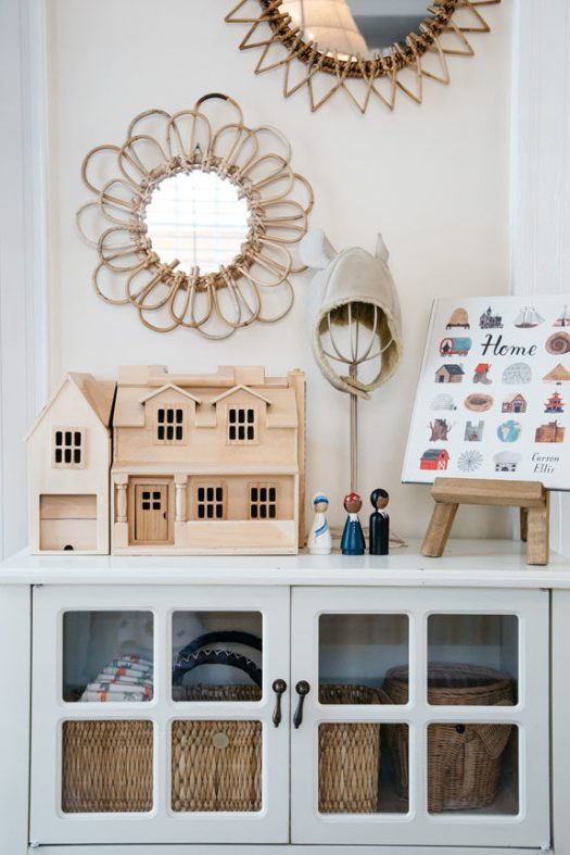 kids room inside tiny canal cottage in venice, ca. / sfgirlbybay