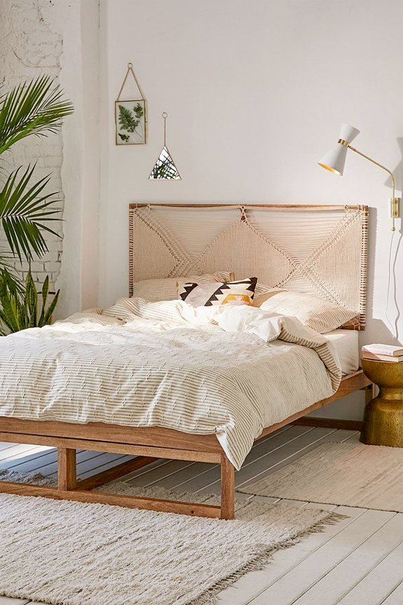 hanging chair urban outfitters used table and chairs 24 finds for the design junkie sfgirlbybay bohemian woven headboard bedding from