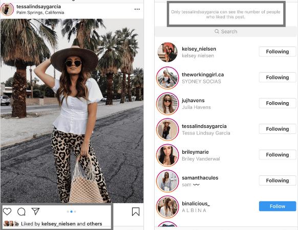 Instagram nasconde il numero di Like – Cosa cambia da oggi