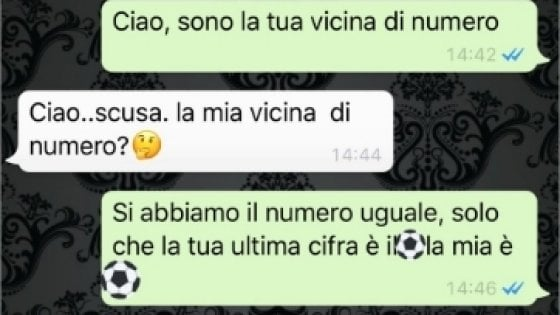 vicino di numero WhatsApp