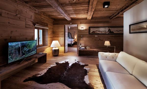 Relax in montagna Un rifugio romantico e chic nell