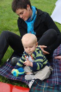 Met kleinkind Sfinks 2011
