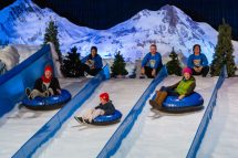 Snow Tubing at Gaylord Palms Christmas