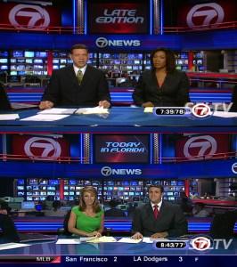 WSVN DTV HD Camera Comparison