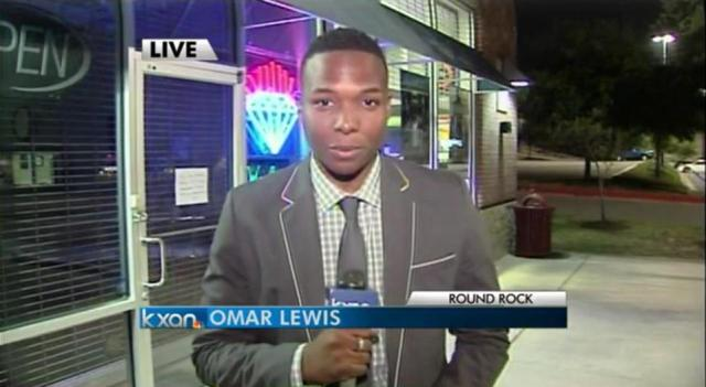Omar Lewis WSVN Reporter, formerly at KXAN