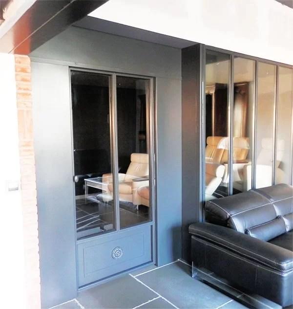 aménagement intérieur métallique cloison verrières