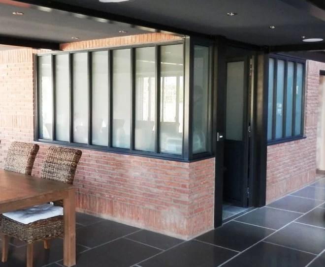 Aménagement intérieur métallique, Verrières d'artiste métal maison yvelines