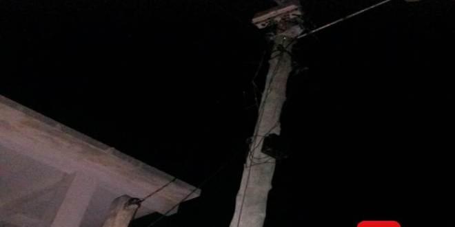 poste sem luz