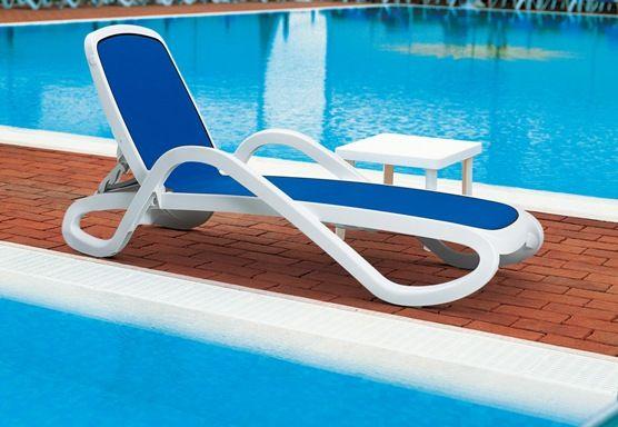 bain de soleil nardi alfa avec toile bleue