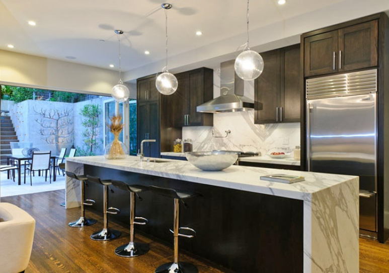 kitchens and baths wheeled kitchen island 2513 pacific | san francisco properties : luxury homes ...