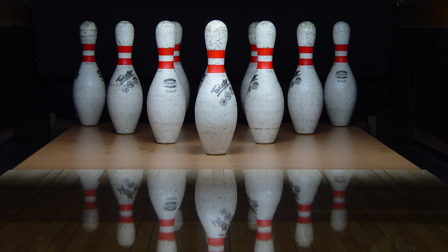 hight resolution of pin drop new bowling alley