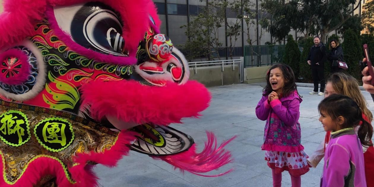 South Class Celebrates Lunar New Year · San Francisco School