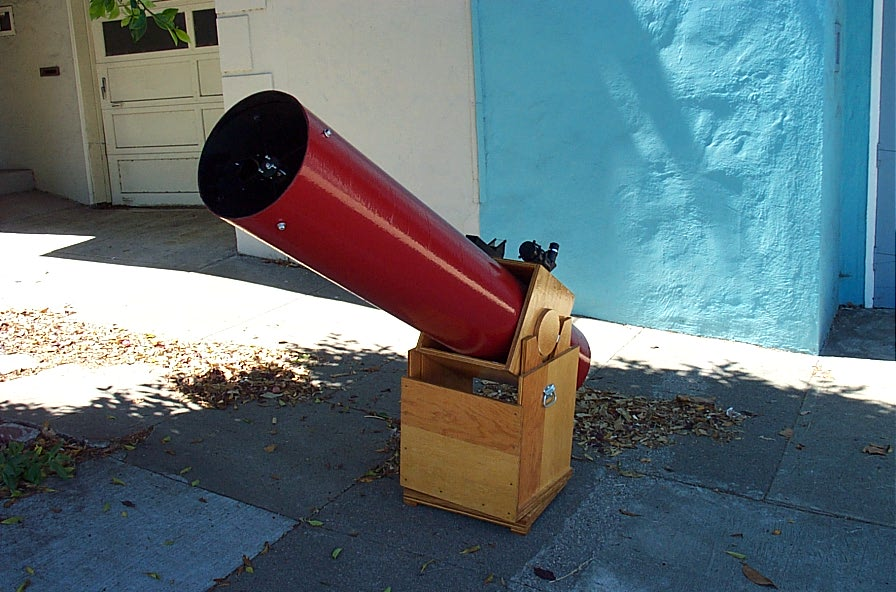 san francisco sidewalk astronomers