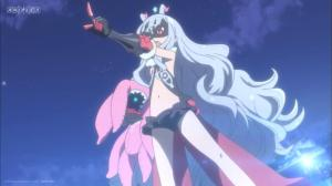 Seriously though, anime, we are going to have to have a talk about the costumes for little girls.  I feel like I should be on a watch list.