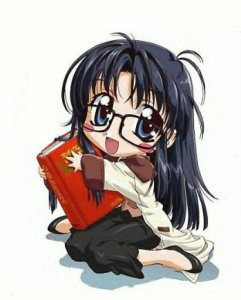 Chibi-Yomiko was my avatar for a long time in college.