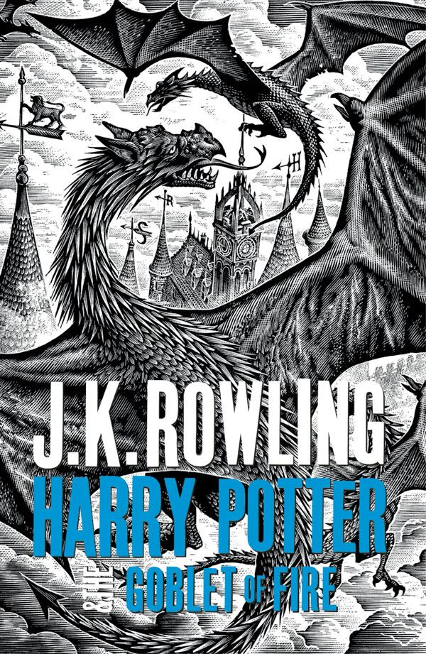 "Harry Potter Book Cover Black And White ~ The ""adult harry potter books look fantastic sf signal"