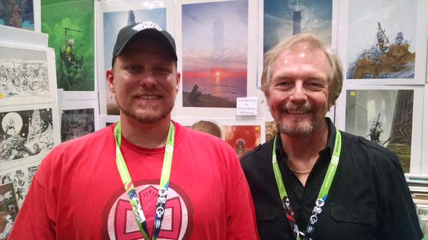 With Michael Whelan