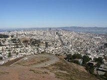 Twin Peaks San Francisco View